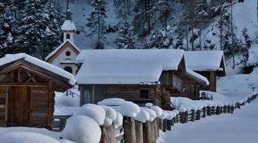 Silvester im Schnee